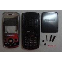 Carcaça Completa Celular Samsung J700 - Pto E Bco Frete 7,00
