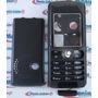 Carcaça Sony Ericsson W200 Preta + Telaco + Chassi Completa