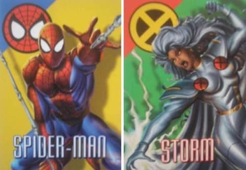 Cards - Marvel Vision - Coleção Completa