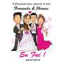 Banner Casamento Eu Fui ! - Arte Digital Para Banner Diverso