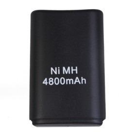 Carregador C/ Bateria Recarregável 4800mah Controle Xbox 360