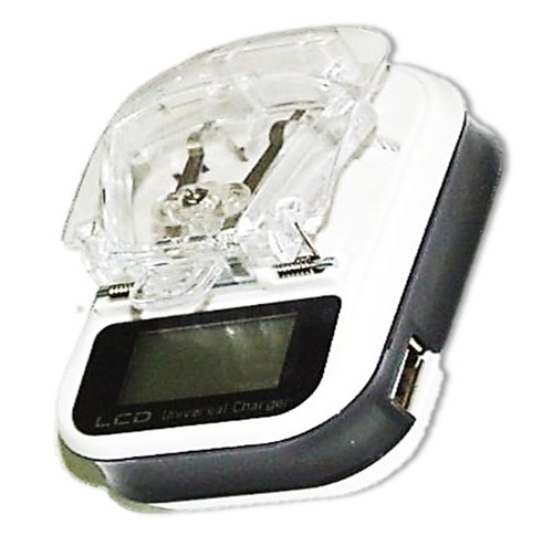 Carregador Universal De Bateria Celular Mp7 Mp9 Mp10 Câmeras