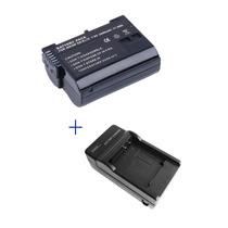 Kit Bateria + Carregador Enel15 Câmera Nikon D7000 D800