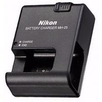 Carregador Nikon Mh-25 En-el15 D7100 D7000 D600 D610 D750