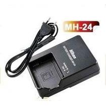 Carregador Nikon Mh-24 Para D5100 D3100 D3200 P7000 En-el14