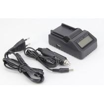 Carregador Sony Bc-v615 Np-f970 Digital Rapido C /saida Usb