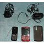 Celular Blackberry + Lg + Cabos E Acessórios Diversos.