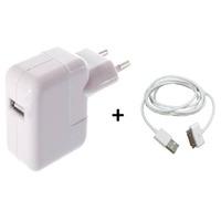 Carregador Apple Iphone 4g 4s 2g 3g 3gs Ipad 2 Usb 10w No Rj