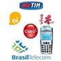 Recarga De Celular (claro, Vivo, Tim, Oi E Brasil Telecon)