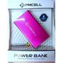 Power Bank 10000mah 4x Para Lg L7 P700 P705 Rosa