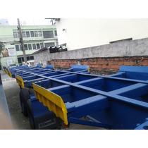 Liquidação Semi-reboques Porta Container A Partir De R$13mil
