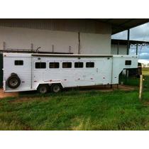 Trailer Halley 5 Cavalos Com Apartamento Para 4 E Banheiro