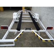 Reboque Para Barco De Aluminio