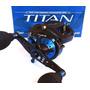 Carretilha Titan Big Game Sw Drag 12kg 7 Rol - Marine Sports