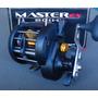 Carretilha Master Ex 60 Hil Marine Sports 7 Rol - Esquerda