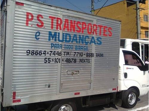 Carretos - Mudanças: 2,00 Km Rodado Viagens 11 94673 - 0395