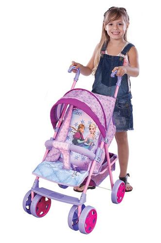 Carrinho De Boneca Frozen Bebê Passeio Disney Ref 6044 - R$ 194,50 no
