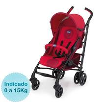 Carrinho De Bebê - Liteway - Até 15kg - Red Chicco