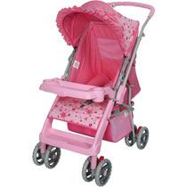Carrinho De Bebê Berço Thor Rosa Plus Tutti Baby