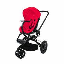 Carrinho De Bebê Quinny Moodd Stroller Vermelho C/ Preto