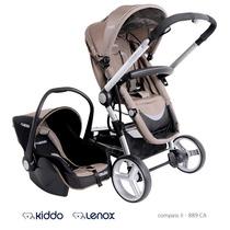 Carrinho Tricíclo Aluminio Bebê Conforto Moisés Travel Syste
