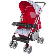 Carrinho De Bebê Berço Magni Vermelho Tutti Baby