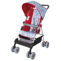 Carrinho De Bebê Magni Reversível Vermelho/azul Tutti Baby