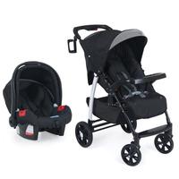 Carrinho De Bebê Modulo E Bebê Conforto Touring Evolution