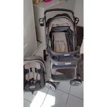 Carrinho De Bebê Burigotto + Bebê Conforto Novinho