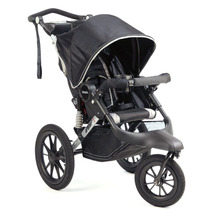 Carrinho Bebe Kolcraft Sprint X Jogging Stroller ( Preto )