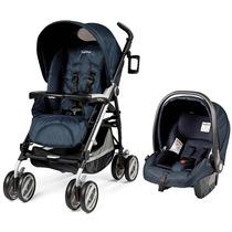 Travel System Carrinho + Bebê Conforto Pliko Compact Cielo P