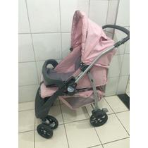 Carrinho De Bebê Rosa Burigotto