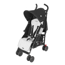 Carrinho De Bebê Quest Black Silver - Maclaren - 4babies