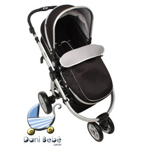 Carrinho De Bebê Dardara Absoluto Preto (danibebe)
