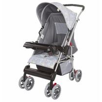 Carrinho De Bebê Magni Reversível Cinza Tutti Baby