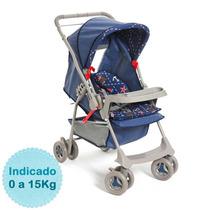 Carrinho De Bebê - - Milano Reversível - Nautico Galzer