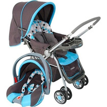 Carrinho De Bebê Travel System Reverse - Azul - Cosco