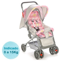 Carrinho De Bebê Funny - Rosa Voyage