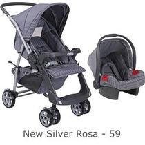 Conjunto Carrinho / Bebê Conforto - Modelo Rio Plus Reversív