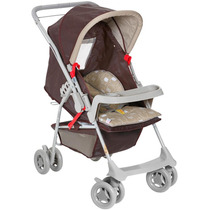 Carrinho De Bebê Milano Reversivel Cacau Galzerano