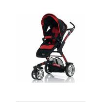 Carrinho De Bebê 3tec Cherry Black Sem Moisés - Abc Design