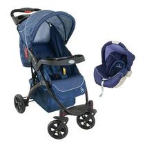 Travel Carrinho Com Bebê Conforto Athena Galzerano