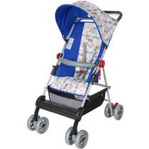 Carrinho De Bebê Damiano - Azul Royal - Tutti Baby