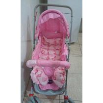 Carrinho De Bebê Rosa- Menina