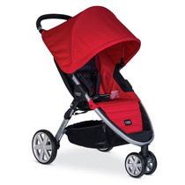 Carrinho De Bebe Britax B-agile 3 Rodas Stroller - Vermelho