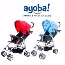 Carrinho De Bebê Passeio Umbrella Plus Ayoba
