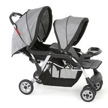 Carrinho Para Bebê Gêmeos Twin 1350 Berço Passeio Galzerano