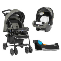 Carrinho De Bebê E Bebê Conforto Kit Duo Today Com Base