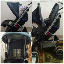 Carrinho Com Bebê Conforto Tutti Baby, Em Ótimo Estado