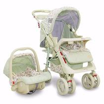 Carrinho De Bebê C/ Bebe Conforto Style Alça Reversível